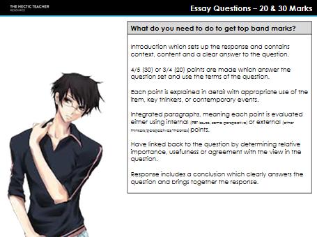 FC Essay Question